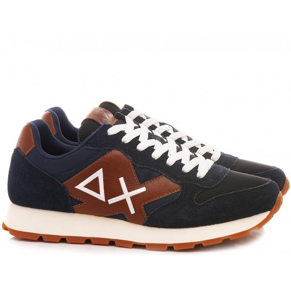 Sun 68 Men's Sneakers Jaki Solid Bicolor Z40110 07