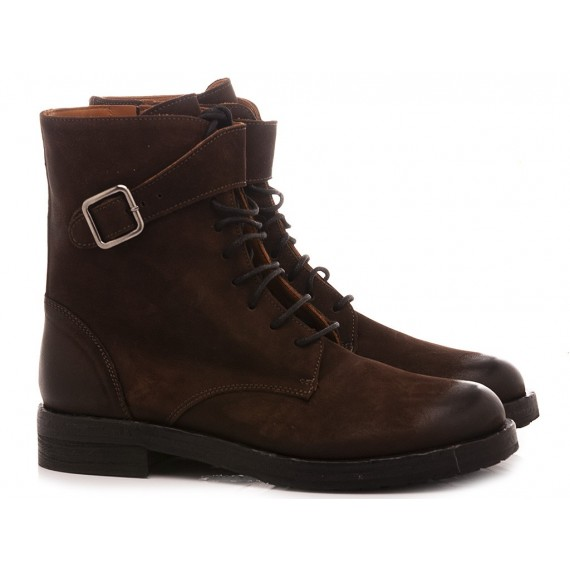 MAT:20 Women's Ankle Boots Suede Coffee 6301