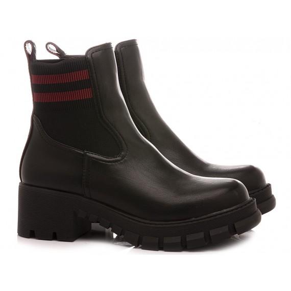 Buffalo London Women's Ankle Boots Marlow Black