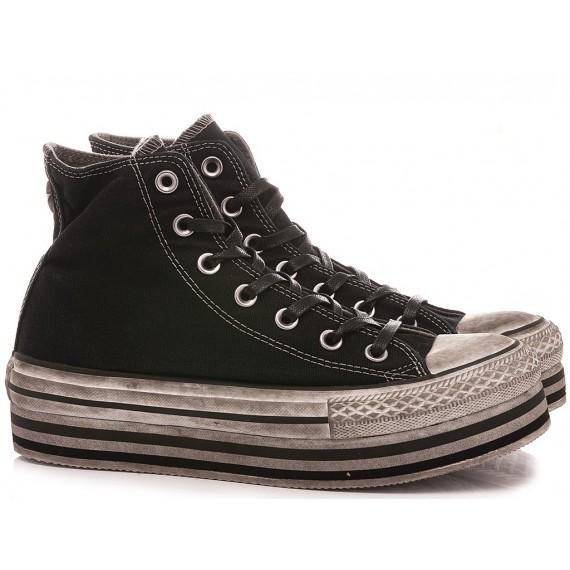 Converse All Star Sneakers Alte Donna CTAS Platform Layer LTD HI 569127C