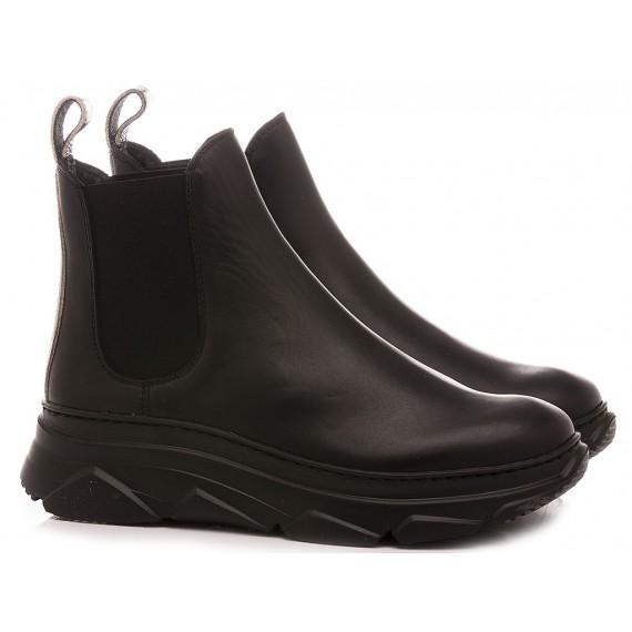 Stokton Women's Ankle Boots Leather Black GIBUS-FW20