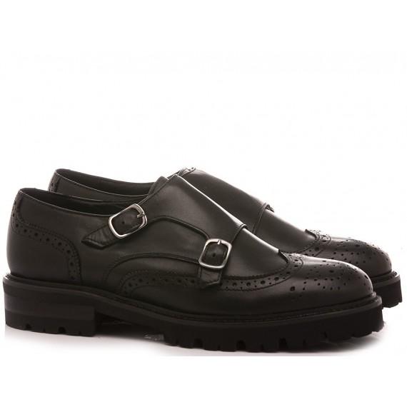 MAT:20 Women's Shoes Leather Black 839