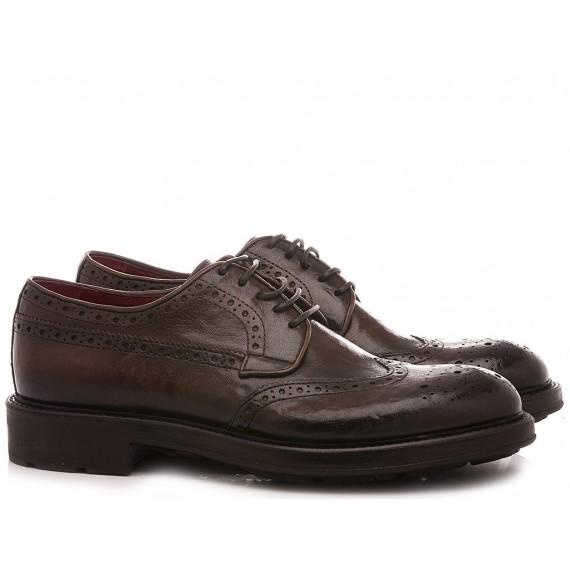 Corvari Men's Shoes Ebony Leather 1042