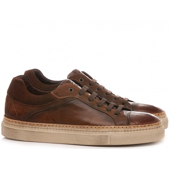 Corvari Men's Shoes Sneakers Mahogany 1210
