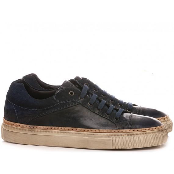 Corvari Men's Shoes Sneakers Blue 1210