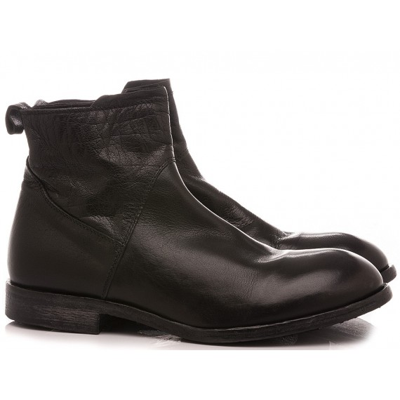 Moma Men's Ankle Boots Black 2CW101-BT