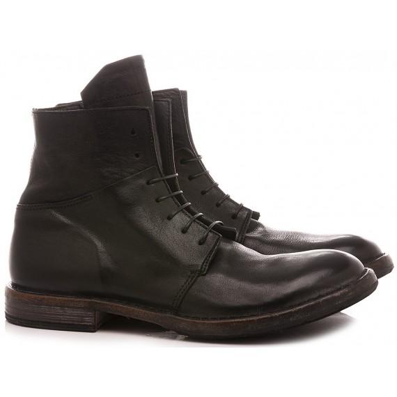 Moma Men's Shoes Ankle Boots Black 2CW144-CU