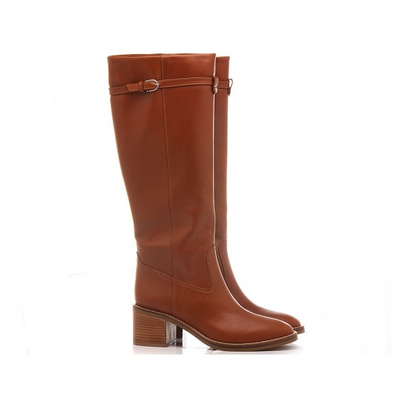 Martina T Women's Boots Leather Tan B272