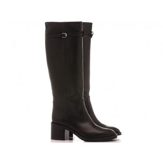 Martina T Women's Boots Leather Black B272