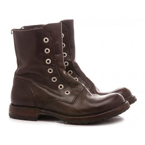Moma Women's Ankle Boots Ebony 1CW005-CU