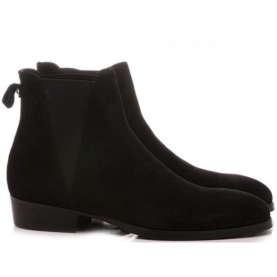 Pawelk's Men's Ankle Boots Black 19700