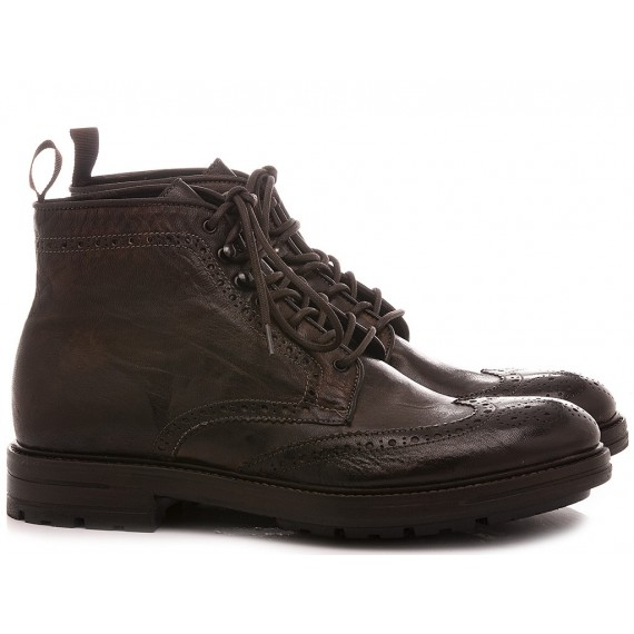 Pawelk's Men's Ankle Boots Brown 20707