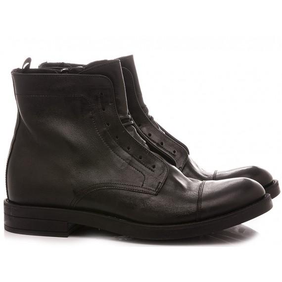 Pawelk's Men's Ankle Boots Black 20702