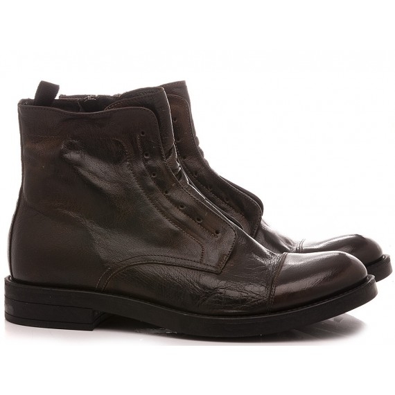 Pawelk's Men's Ankle Boots Brown 20702