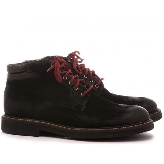 Exton Men's Shoes Ankle Boots Suede 852