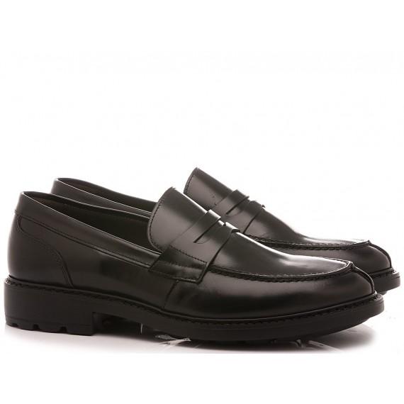 Marco Ferretti Men's Loafers 160582MF Black