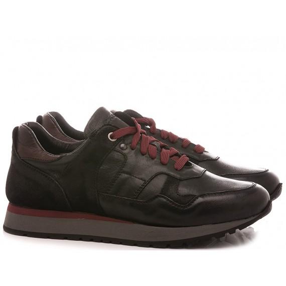 Exton Men's Sneakers Leather Black 591