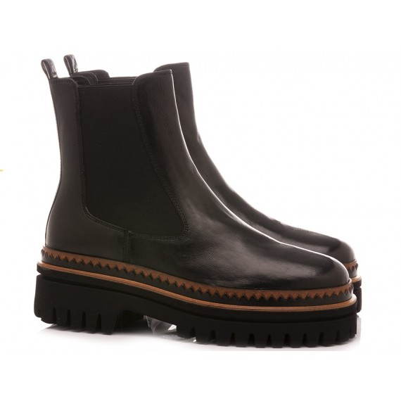 Elvio Zanon Women's Ankle Boots EM0803X Black