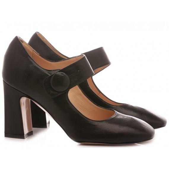 Les Autres Women's Shoes Leather Black 1671