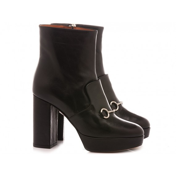 Matteo Pitti Women's Ankle Boots 4350 Black