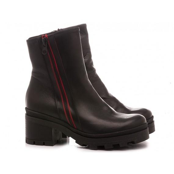 Curiositè Women's Ankle Boots Leather 1654