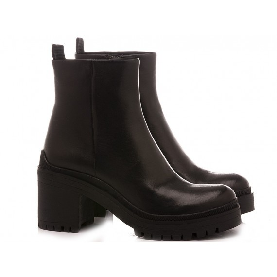 Adele Dezotti Women's Ankle Boots AZ1101X Black