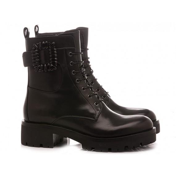 Adele Dezotti Women's Ankle Boots AZ1605X Black