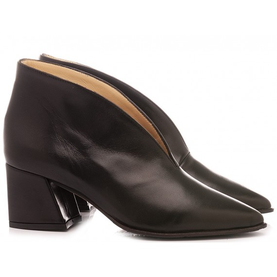 L'Arianna Women's Ankle Boots Leather Black TR8006/G