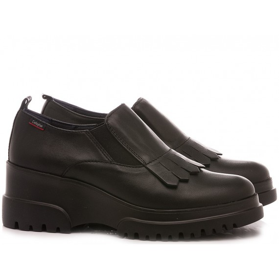 Callaghan Women's Shoes Leather Black 27206