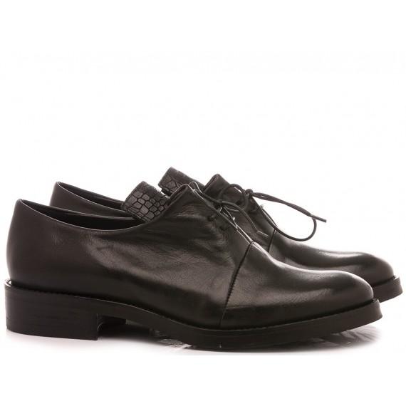 RepKo Women's Shoes Leather Black T01