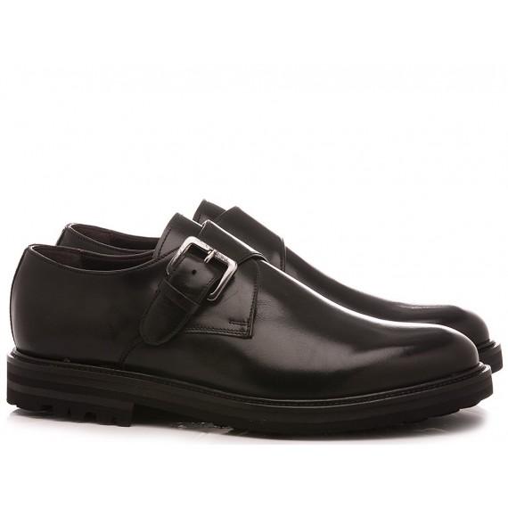 Brecos Men's Shoes Leather Black 9757I20