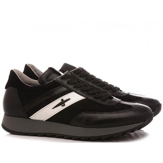 Paciotti 4US Men's Sneakers-Shoes ZZJU1SZ Black