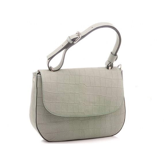 Galeotti Women's Bag Leather Light Green