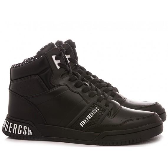 Bikkembergs Men's Sneakers Leather Black B4BKM0106