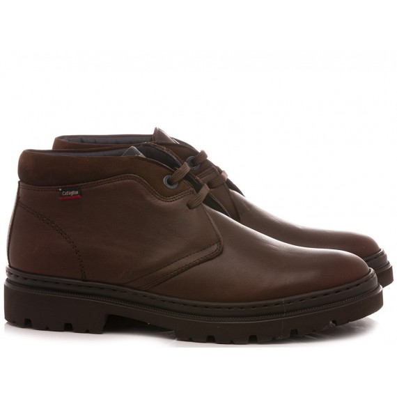 Callaghan Men's Shoes Leather Brown 45100