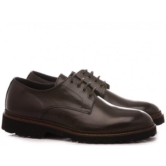 Exton Men's Shoes Leather 9057 Chestnut