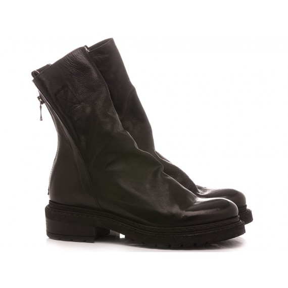 Metisse Women's Ankle Boots Leather Black MA05