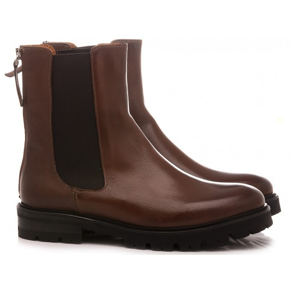 MAT:20 Women's Ankle Boots Leather Brown 3068