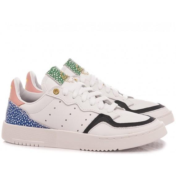 Adidas Women's Sneakers Supercourt W FX8108 White-Multi