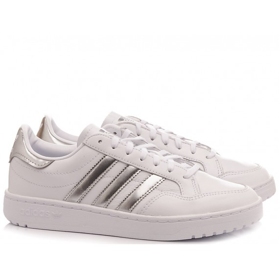 Adidas Sneakers Donna Team Court W EG 9824