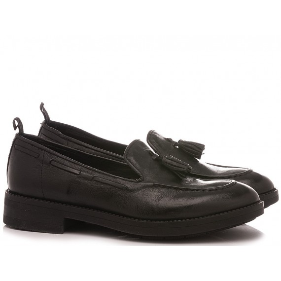 History 541 Women's Loafers Alessia02 Black