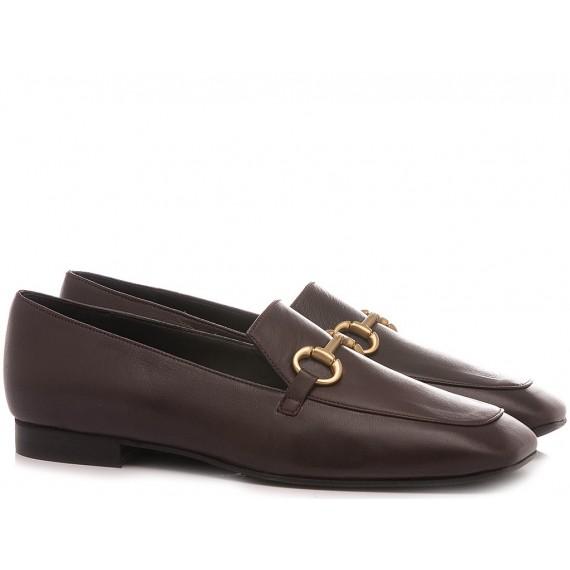Poesie Veneziane Women's Shoes Loafers Leather Bordeaux KIG30