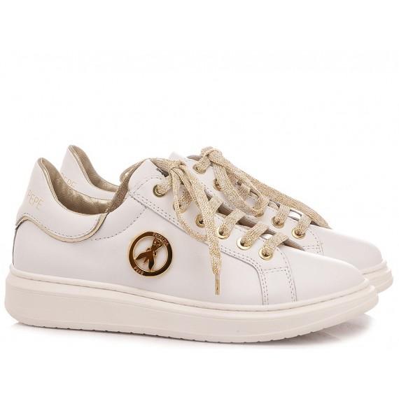 Patrizia Pepe Children's Shoes Sneakers PPJ521.06 White