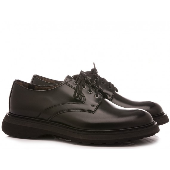 Doucal's Men's Shoes Leather Black 2514