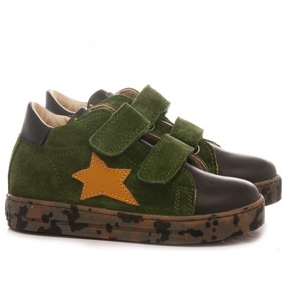 Falcotto Children's Shoes Sneakers Sasha Green