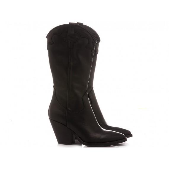 Curiositè Women's Western Boots Leather L212