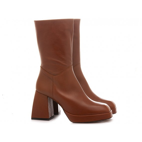 Angel Alarcon Women's Ankle Boots Leather 20583-871A