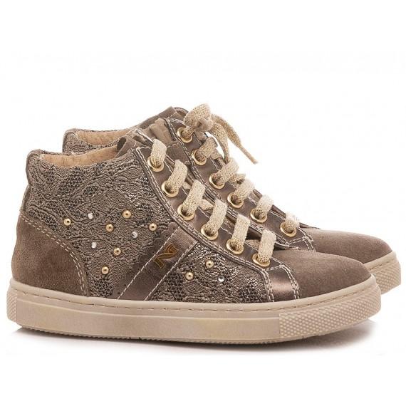 Nero Giardini Children's Sneakers Suede Taupe