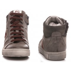 Nero Giardini Children's Shoes Sneakers Leather Charcoal