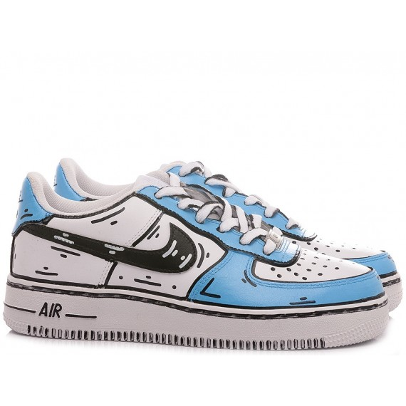 Nike Sneakers Uomo Air Force 1 '07 Personalizzate